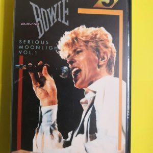 David Bowie, Serious Moonlight Vol 1 VHS