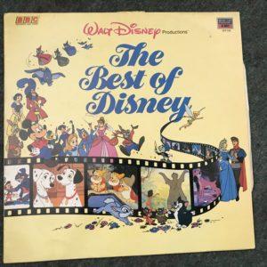 snow white, 101 dalmations, dumbo, IMG_3522 Various - The Best Of Disney - MFP 5783 - vinyl LP - uk