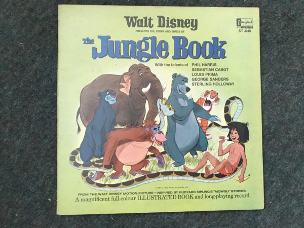 IMG_3536 WALT DISNEY - THE JUNGLE BOOK ALBUM VINYL RECORD LP ORIGINAL