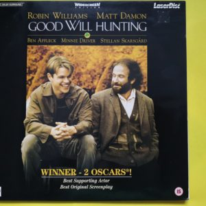 Good Will Hunting (1997) PAL Laser Disc