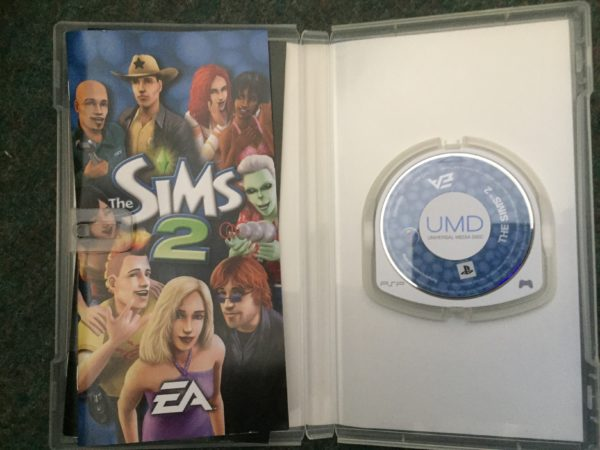 The Sims 2 (PSP) playstation