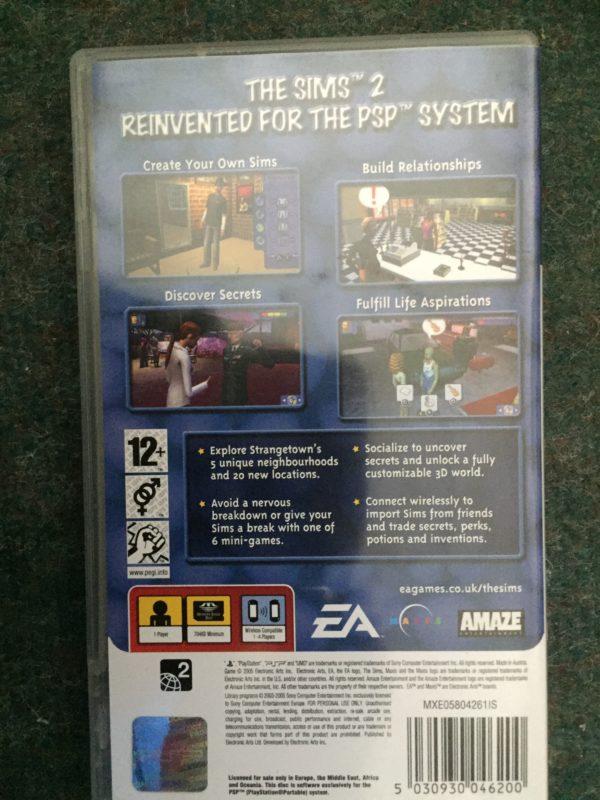 The Sims 2 (PSP) [sony_psp]