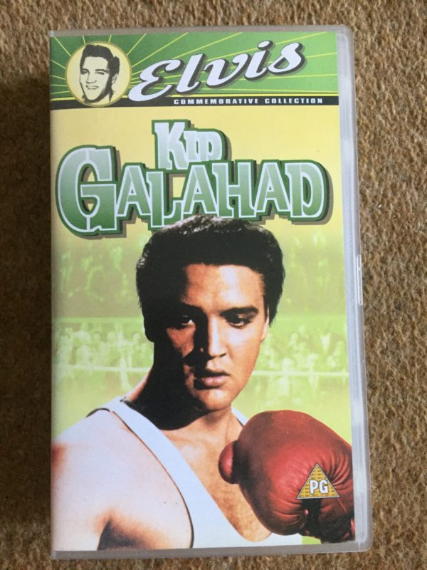 The King Elvis Presley - Kid Galahad, VHS Pal