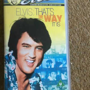 Elvis Aron Presley -That's The Way It Is, VHS Pal