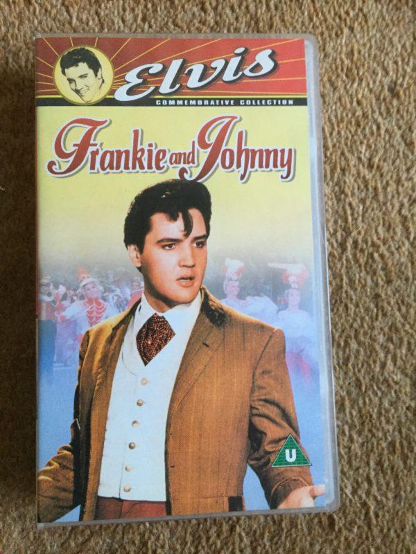 Elvis Presley- Frankie and Johnny VHS Pal