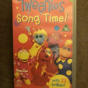 Tweenies - Song Time [VHS] BBC, Bella, Milo, Fuzz, Jake