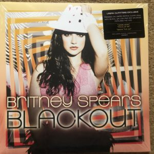 IMG_2950 Vinyl 12 LP - Britney Spears - Blackout - Clear, Black, Yellow, Red Vinyl -Pressed on limited edition clear vinyl with Black, Yellow and Red Splatter