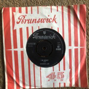 Brenda Lee - I'm Sorry That's All You Gotta Do 7'' Vinyl 45-05833 (1960)