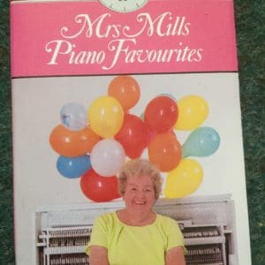 Mrs Mills Piano Favourites - EMI Music For Pleasure Boxed Cassette Tape HR 1852