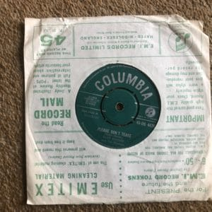 Cliff Richard And The Shadows* – Please Don't Tease/Where is the Heart (DB4479) Columbia