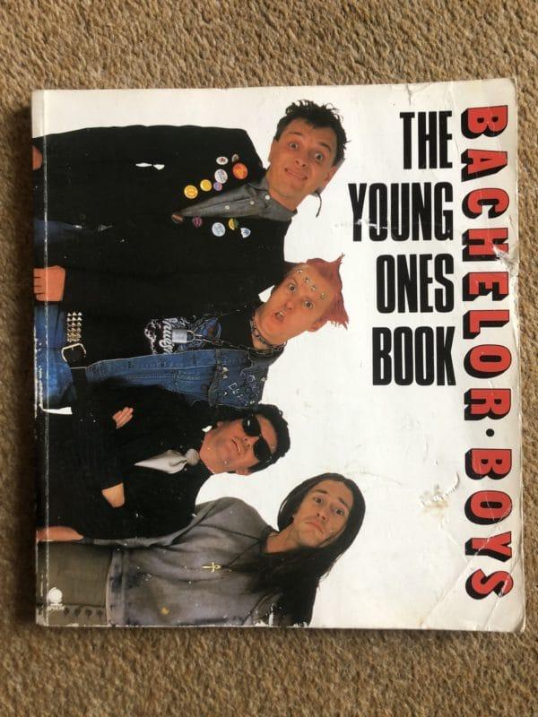 Bachelor Boys The Young Ones Book [paperback] Elton, Ben,Mayall, Rik [Jan 01, 1984]