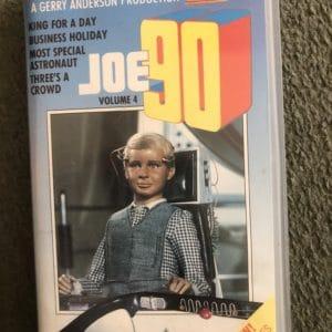 Gerry Anderson JOE 90 Volume 4 Video VHS ORIGINAL RARE 1987