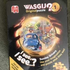 WASGIJ? Original No.1 500 Piece Jigsaw Puzzle 'SUNDAY DRIVERS!' [New and Sealed]