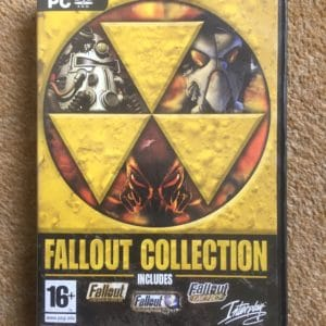 Fallout Collection (1 + 2 + Tactics) - PC DVD Game