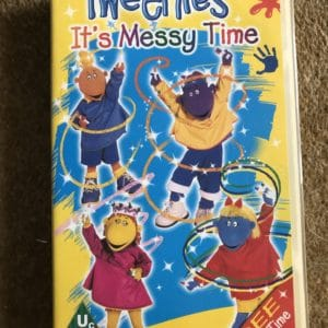 Tweenies: It's Messy Time [VHS] [Yellow Tape]