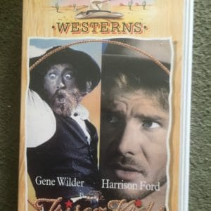 The Frisco Kid (1979) [VHS] [White case] [VHS tape sealed] Starring Gene Wilder and Harrison Ford