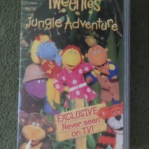 Tweenies Jungle Adventure Video VHS CBeebies BBC PAL