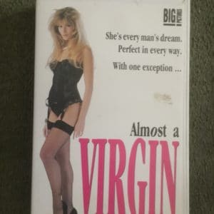 Almost A Virgin - Craig Sheffer & Chelsea Noble [VHS] [WHITE TAB] [Fat Box]