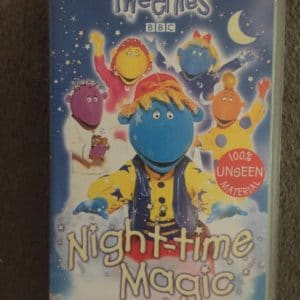 tweenies night time magic vhs bbc classic rare kids vhs