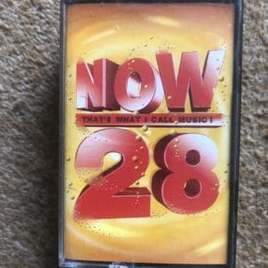 Now That's What I Call Music 28 - Various Artists (Double Cassette)